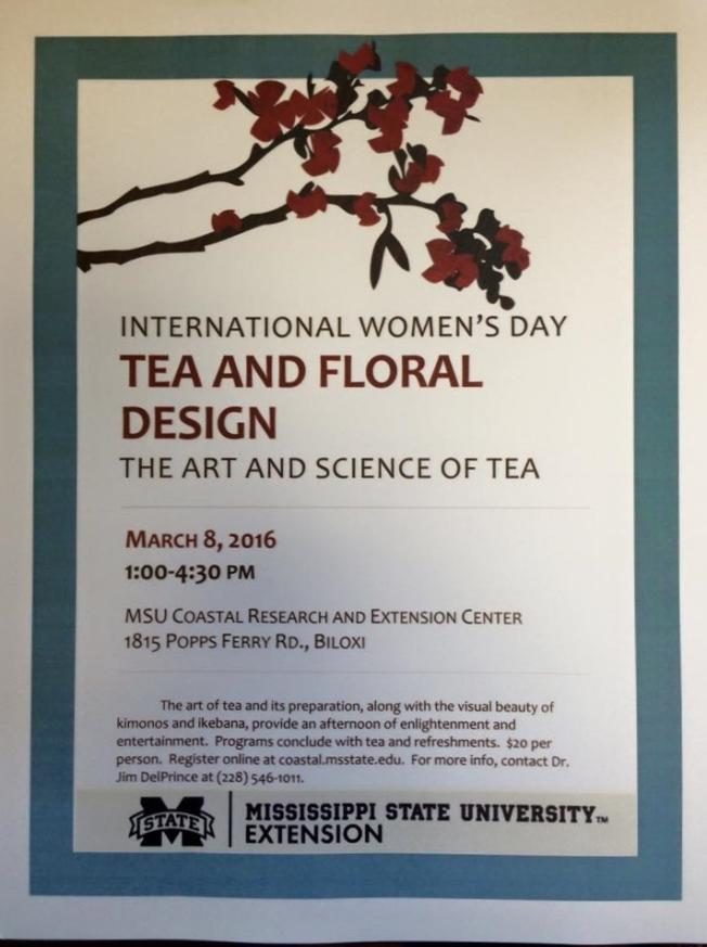tea flyer