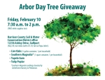Arbor Day Tree Giveaway – Feb. 10, 2017